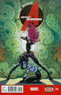 Secret Avengers Vol 3 #12 Michael Walsh