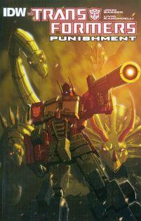 Transformers Punishment One Shot Livio Ramondelli