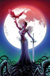 Blood Queen #2 Cover E High-End Ale Garza Virgin Art Ultra-Limited Variant Cover (ONLY 50 COPIES IN EXISTENCE!)