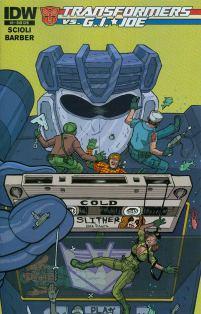 Transformers vs GI Joe #5 Cover B Variant Nick Pitarra Subscription