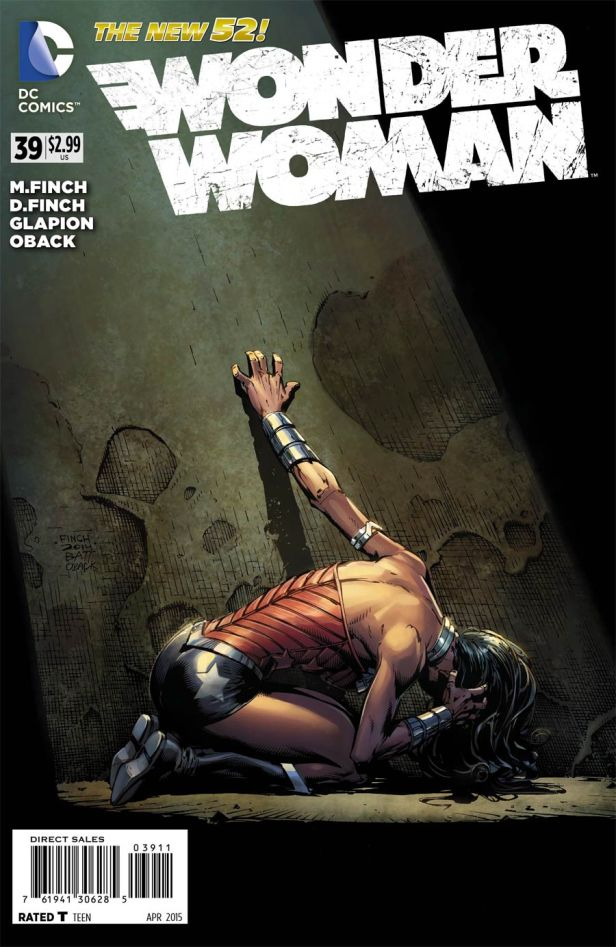 Wonder Woman Vol 4 #39 Regular David Finch