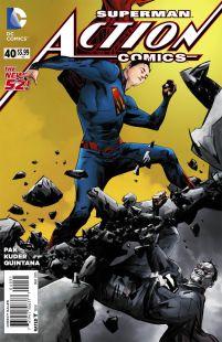 Action Comics Vol 2 #40 Incentive Jae Lee Variant