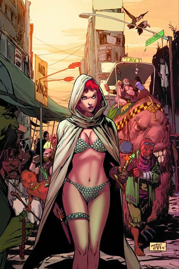 Altered States Red Sonja One Shot Rare Billy Tan Virgin