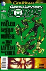 Green Lantern Corps Vol 3 #35 Bernard Chang (Godhead Act 1 Part 3)
