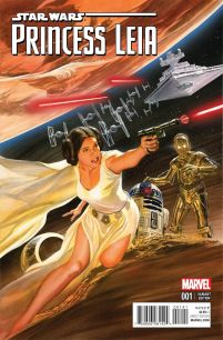Princess Leia #1 Incentive Alex Ross Color