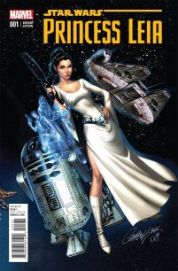 Princess Leia #1 Incentive J Scott Campbell Connecting Variant