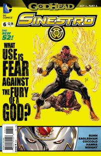 Sinestro #6 Guillem March (Godhead Act 1 Part 6)