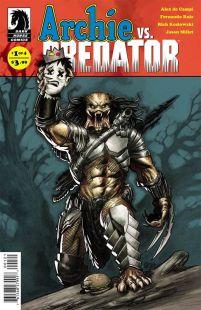 Archie vs Predator #1 Variant Eric Powell