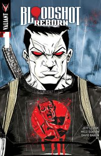 Bloodshot Reborn #1 Incentive Jeff Lemire Variant