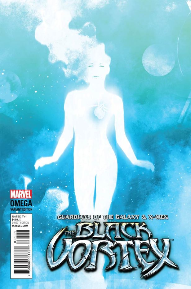 Guardians Of The Galaxy & X-Men Black Vortex Omega #1 Incentive Andrea Sorrentino Cosmically Enhanced Variant