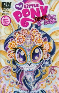 My Little Pony Fiendship Is Magic #1 Sombra Incentive Sara Richard Twilight Sparkle Variant