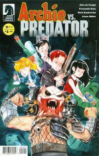 Archie vs Predator #2 Variant Dustin Nguyen