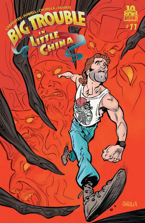 Big Trouble In Little China #11 Regular Brian Churilla