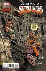 Deadpools Secret Secret Wars #1 Incentive Variant