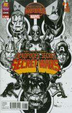 Deadpools Secret Secret Wars #1 C2E2 Previews Exclusive Inked Variant