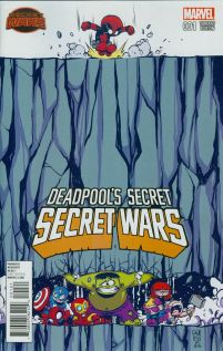 Deadpools Secret Secret Wars #1 Variant Skottie Young Baby