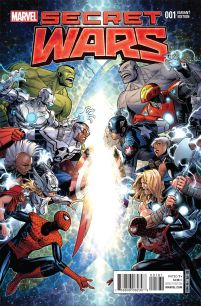 Secret Wars #1 Incentive Jim Cheung Variant