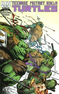 Teenage Mutant Ninja Turtles Vol 5 #46 Incentive Alberto Ponticelli Variant