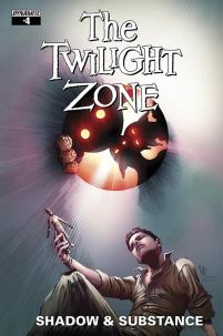 Twilight Zone Shadow & Substance #4 Variant Jonathan Lau Subscription