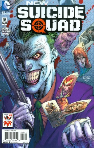 New Suicide Squad #9 Variant Jim Lee The Joker 75th Anniversary