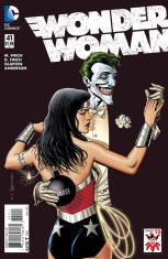 Wonder Woman Vol 4 #41 Variant Brian Bolland The Joker 75th Anniversary