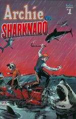 Archie vs Sharknado One Shot Variant Robert Hack