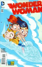 Wonder Woman Vol 4 #42 Variant Ben Caldwell Teen Titans Go