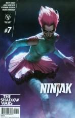 Ninjak Vol 3 #7 Variant Jelena Kevic-Djurdjevic