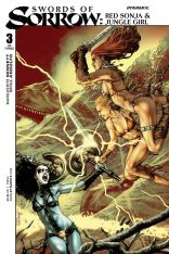 Swords Of Sorrow Red Sonja & Jungle Girl #3 Regular Jay Anacleto
