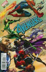 Uncanny Avengers Vol 3 #1 Incentive J Scott Campbell Variant