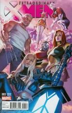 Extraordinary X-Men #3 Incentive Clay Mann Variant