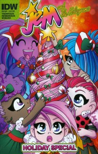 Jem And The Holograms Holiday Special Variant Agnes Garbowska Subscription