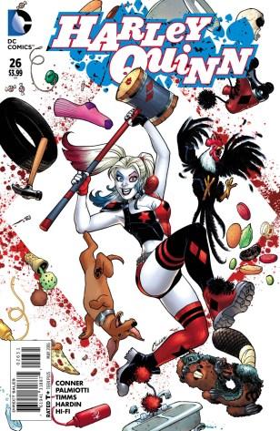 Harley Quinn Vol 2 #26 Incentive Amanda Conner Variant