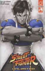 Street Fighter Unlimited #4 Incentive Kandoken Street Fighter V Game Variant