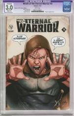 Wrath Of The Eternal Warrior #5 Variant Clayton Henry Valiant x CGC Replica