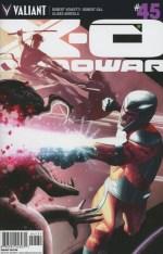 X-O Manowar Vol 3 #45 Incentive Jeff Dekal Variant