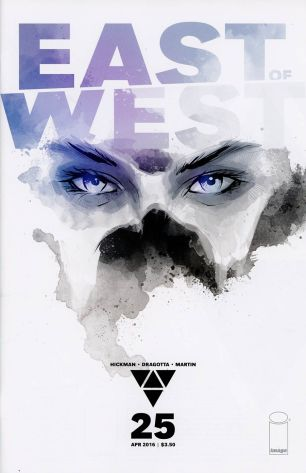 East Of West #25 Variant Jonathan Hickman