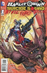 Harley Quinn And The Suicide Squad April Fools Special #1 Regular Jim Lee