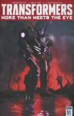 Transformers More Than Meets The Eye #51 Incentive Livio Ramondelli Variant