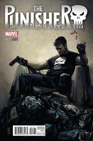 Punisher Vol 10 #1 Incentive Alex Maleev Variant