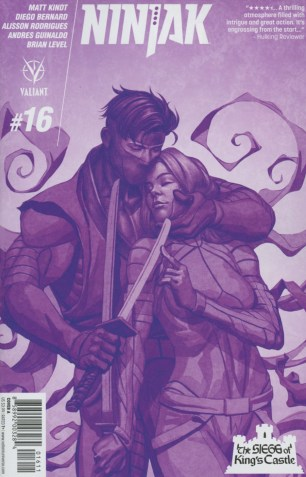Ninjak Vol 3 #16 Regular Mike Choi