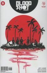 Bloodshot Reborn #15 Incentive Jeff Lemire Variant