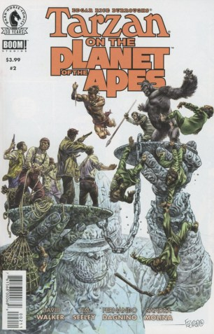 Tarzan On The Planet Of The Apes #2 Duncan Fegredo