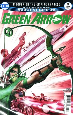Green Arrow Vol 7 #11 Regular Juan Ferreyra