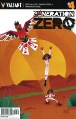 Generation Zero #4 Incentive Jeffrey Veregge Variant