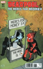 Deadpool And The Mercs For Money Vol 2 #7 Incentive Variant Brian Level