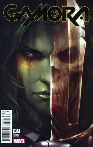 Gamora #2 Incentive Francesco Mattina Variant