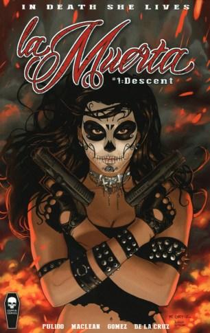 La Muerta Descent #1 Variant Softcover Edition Joel Gomez