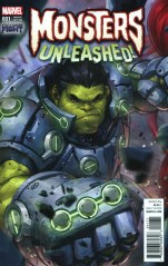 Monsters Unleashed #1 Incentive Jeehyung Lee Video Game Variant