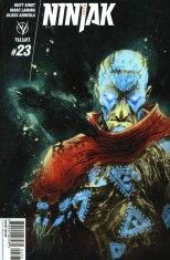 Ninjak Vol 3 #23 Incentive Ben Templesmith Variant